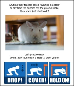 rabbits-in-a-hole-earthquake-drill-for-preschool