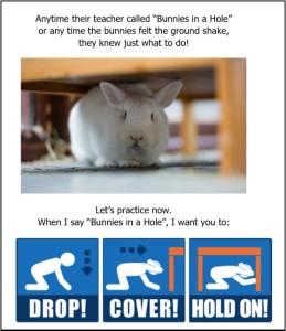 rabbits-in-a-hole-earthquake-drill-for-preschool
