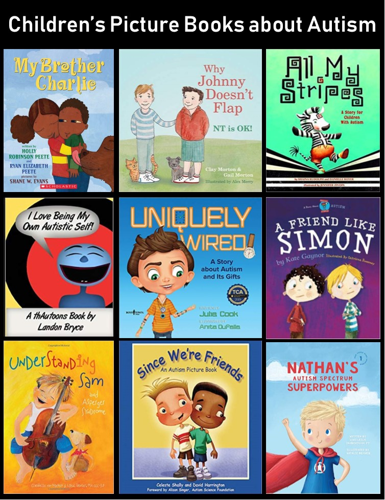 cover images for 9 of the books described in the text